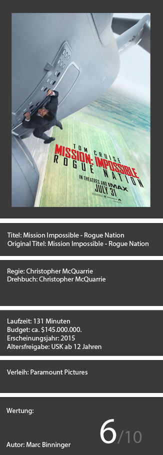 Mission Impossible - Rogue Nation Kopie