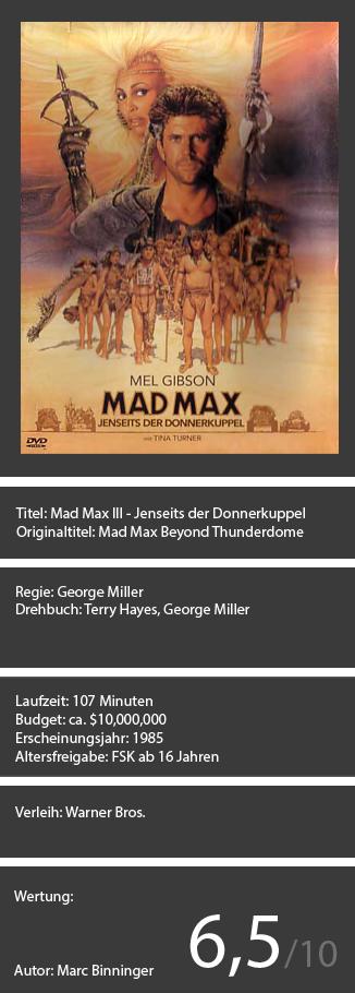 Mad Max III
