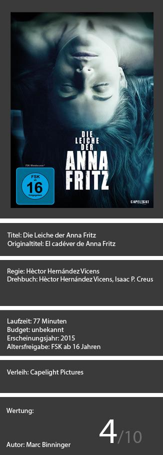Die Leiche der Anna Fritz
